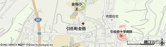 静岡県浜松市北区引佐町金指周辺の地図