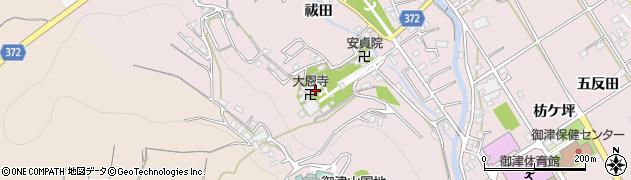 大恩寺周辺の地図