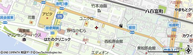 キャッツカフェ 蒲郡店周辺の地図