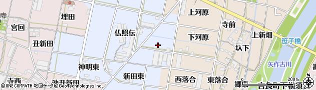 愛知県西尾市平口町(蓮台)周辺の地図