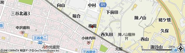 愛知県蒲郡市豊岡町(権現)周辺の地図