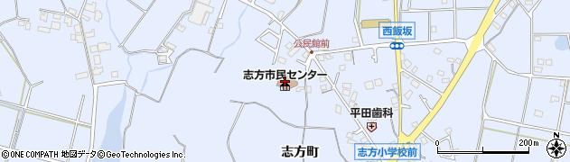 加古川市立 志方公民館周辺の地図