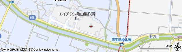 株式会社エイチワン 亀山製作所周辺の地図
