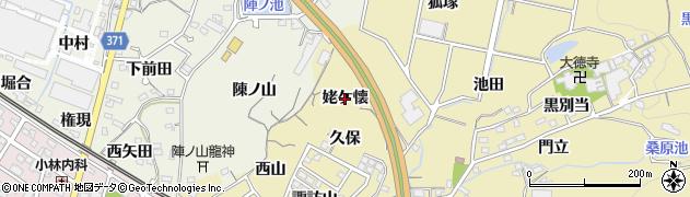 愛知県蒲郡市三谷町(姥ケ懐)周辺の地図