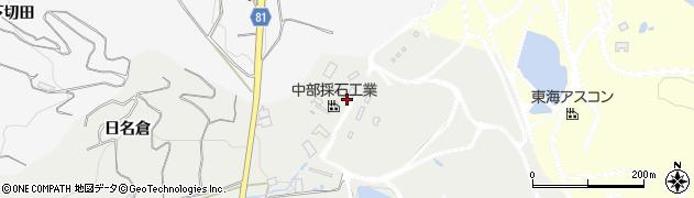 愛知県豊橋市石巻本町(日名倉)周辺の地図