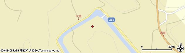 広島県庄原市春田町周辺の地図