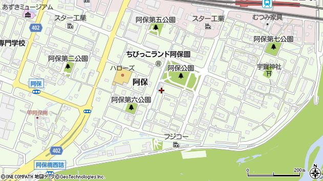 〒670-0944 兵庫県姫路市阿保の地図