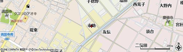 愛知県西尾市一色町一色(市助)周辺の地図