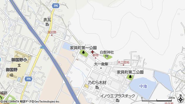 〒671-0225 兵庫県姫路市別所町家具町の地図