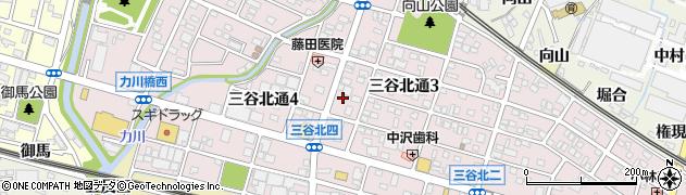 とんちゃん北通店周辺の地図