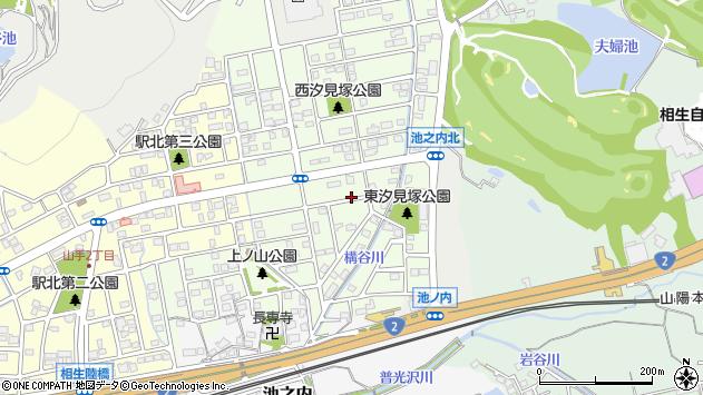 〒678-0002 兵庫県相生市汐見台の地図