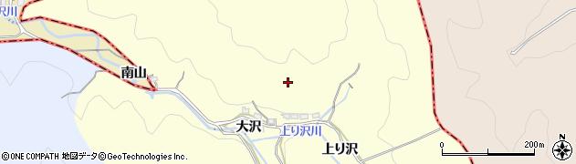 愛知県西尾市東幡豆町(大沢)周辺の地図