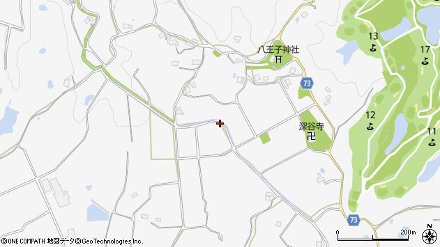 〒651-1341 兵庫県神戸市北区八多町深谷の地図