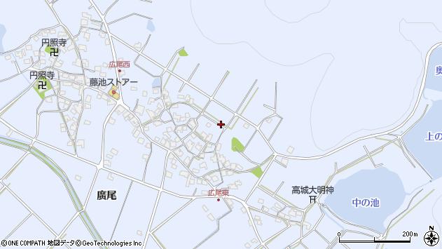 〒675-0312 兵庫県加古川市志方町広尾の地図