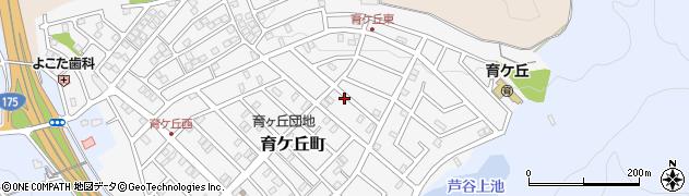兵庫県小野市育ケ丘町周辺の地図