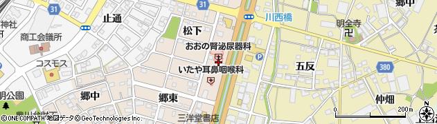 愛知県豊川市馬場町(薬師)周辺の地図
