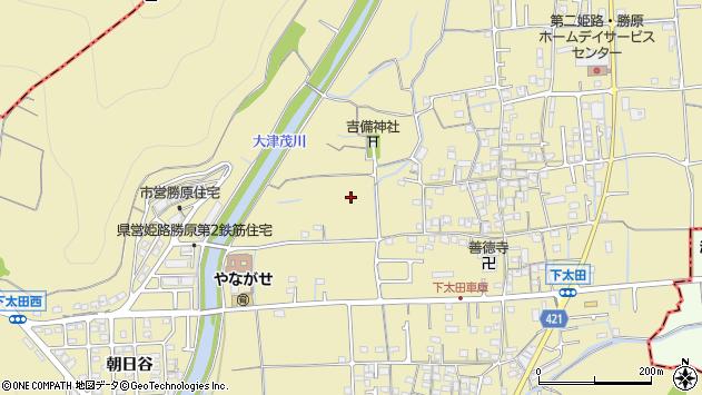 〒671-1201 兵庫県姫路市勝原区下太田の地図