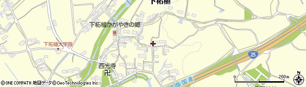三重県伊賀市下柘植周辺の地図