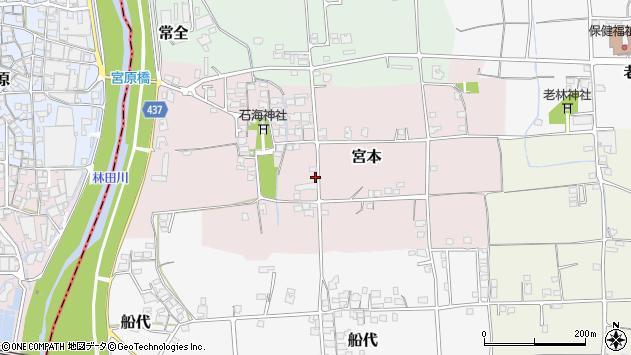 〒671-1555 兵庫県揖保郡太子町宮本の地図