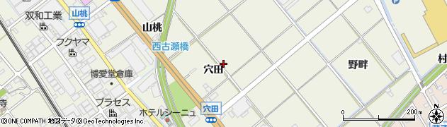 愛知県豊川市白鳥町周辺の地図