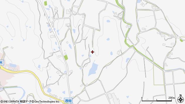 〒651-1345 兵庫県神戸市北区八多町西畑の地図