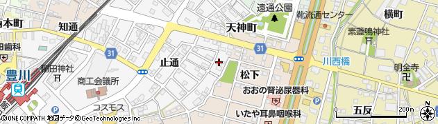 門前そば山彦工場周辺の地図