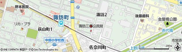 うまごや周辺の地図