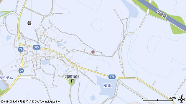 〒675-1226 兵庫県加古川市平荘町磐の地図