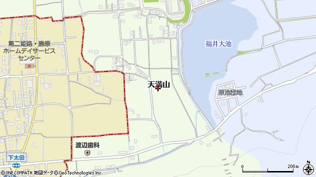 〒671-1503 兵庫県揖保郡太子町天満山の地図