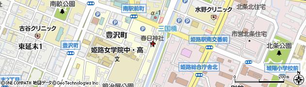 春日神社周辺の地図