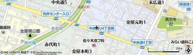 マルシン鮮魚株式会社周辺の地図