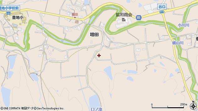 〒673-0704 兵庫県三木市細川町増田の地図