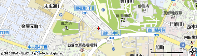 さくら周辺の地図