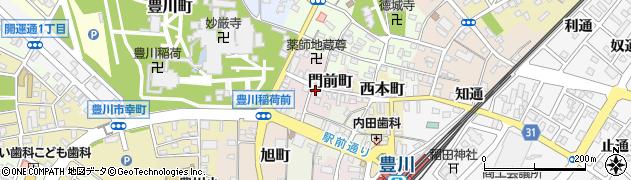トミー周辺の地図