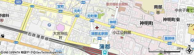 更紗周辺の地図