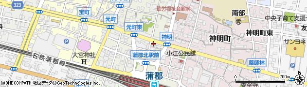 じゅんちゃん周辺の地図