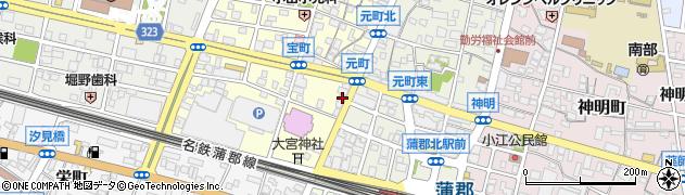 松周辺の地図