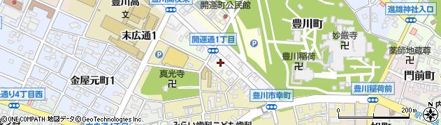 鈴らん弁当周辺の地図