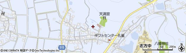 兵庫県加古川市志方町(西飯坂)周辺の地図