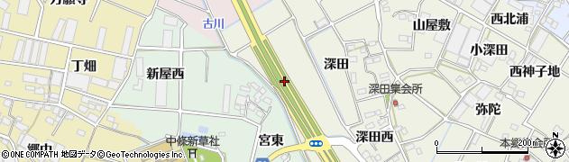 愛知県豊川市三上町(柳原)周辺の地図