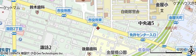カノウ周辺の地図