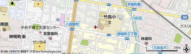 愛知県蒲郡市三谷町(野添)周辺の地図