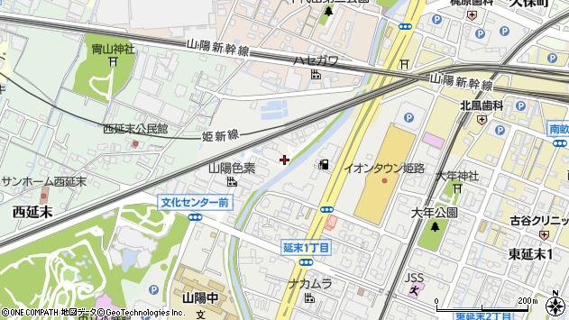 〒670-0966 兵庫県姫路市延末の地図