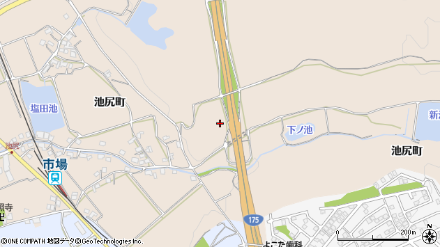 〒675-1326 兵庫県小野市池尻町の地図