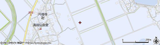 兵庫県加古川市志方町(高畑)周辺の地図