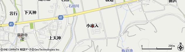 愛知県西尾市吉良町津平(小出入)周辺の地図