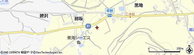 愛知県豊橋市石巻平野町(日名倉)周辺の地図