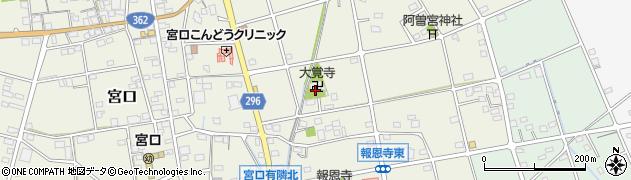 大覚寺周辺の地図