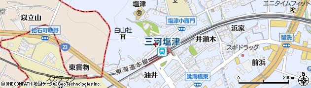 魚徳周辺の地図