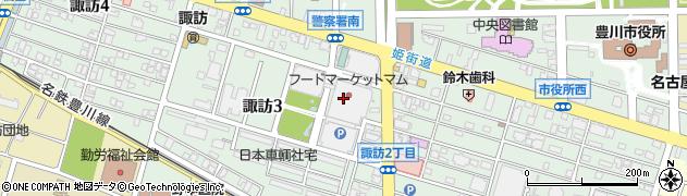 キッチンあい周辺の地図